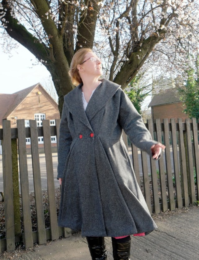 vintage coat Butterick B5824