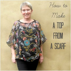 scarf top square