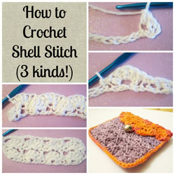 collage shell stitch