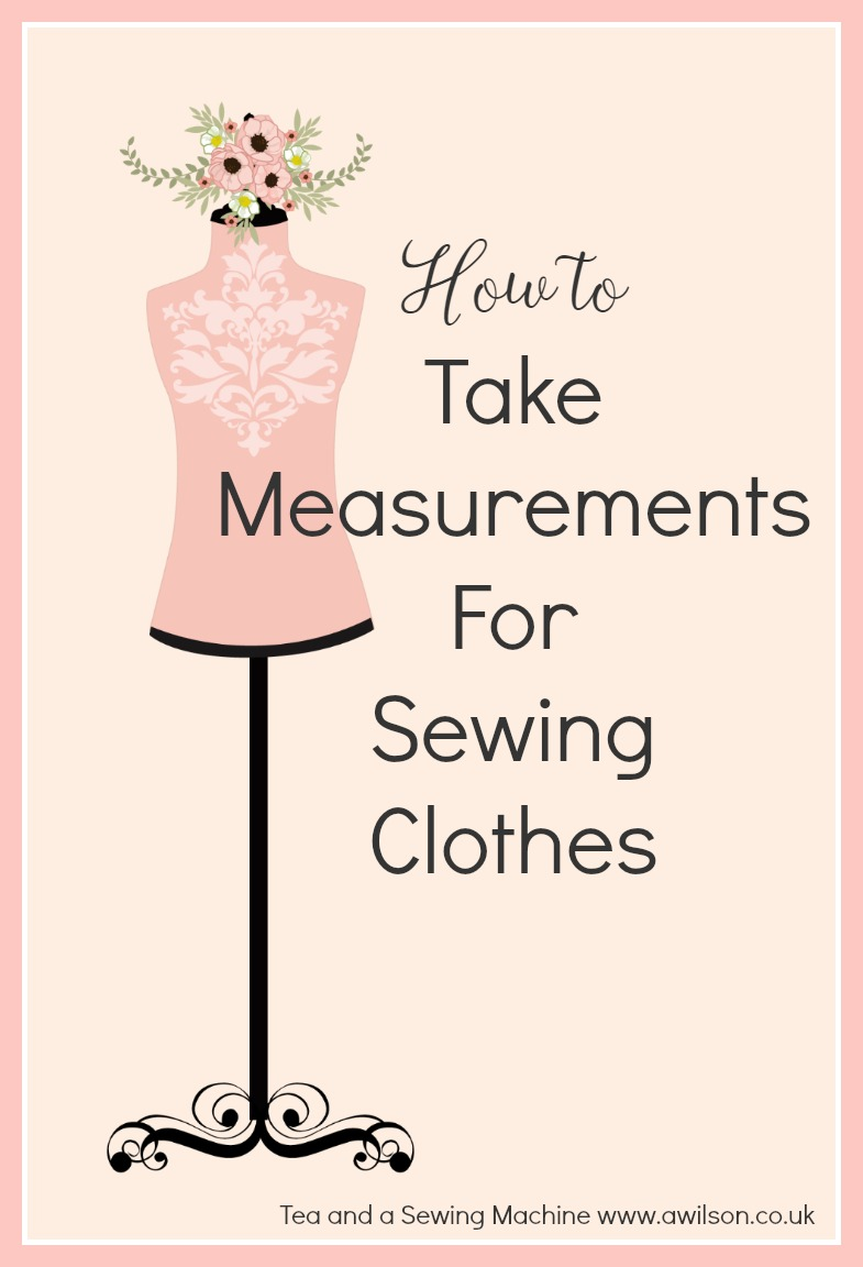 how to take measurements for sewing clothes