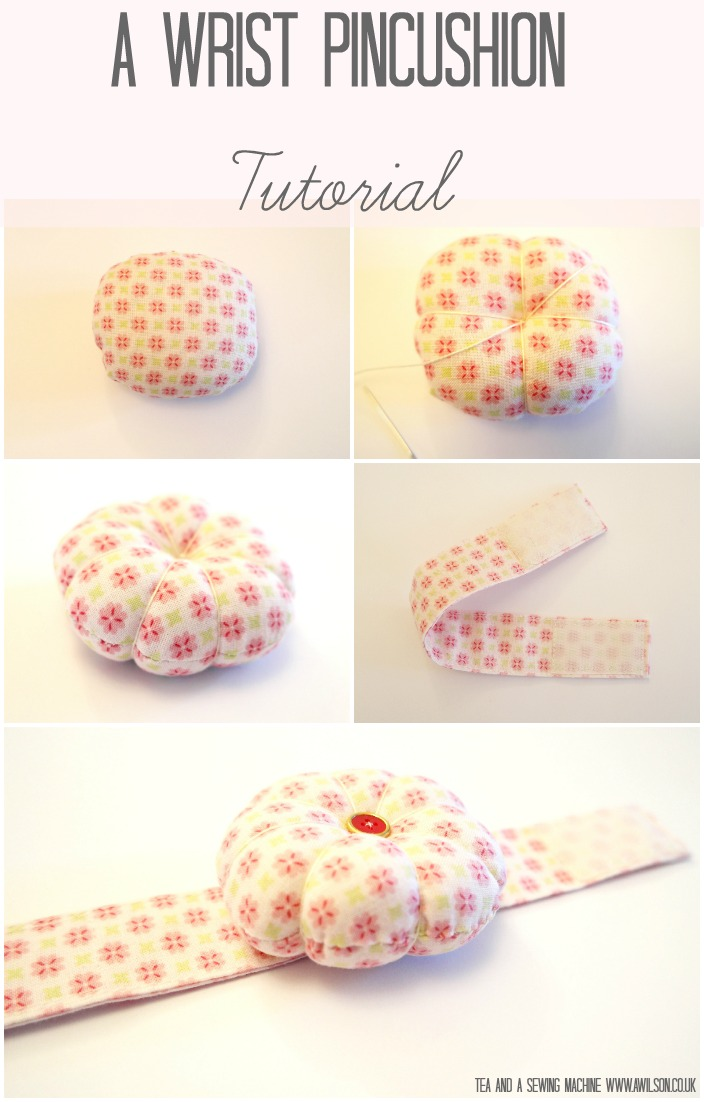 A Wrist Pincushion Tutorial -