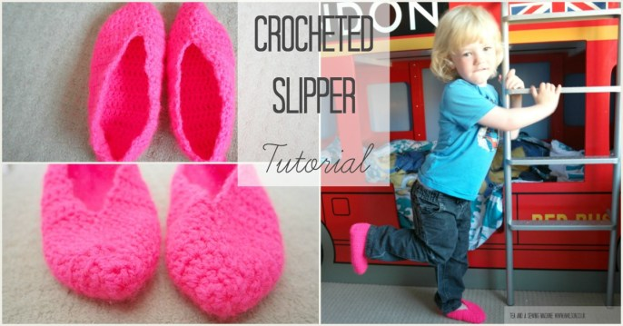 Crocheted Slippers Tutorial