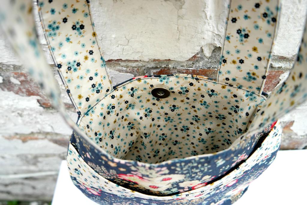 small round bag tutorial Tilda stitch craft create