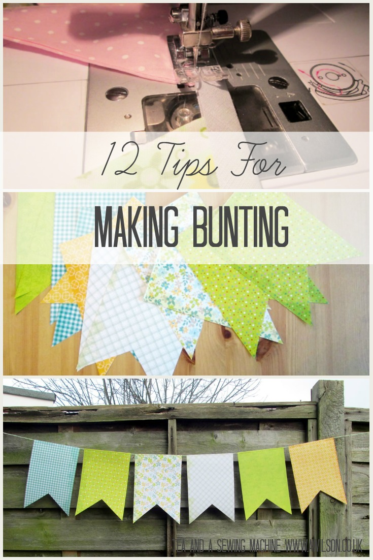 12 tips for making bunting