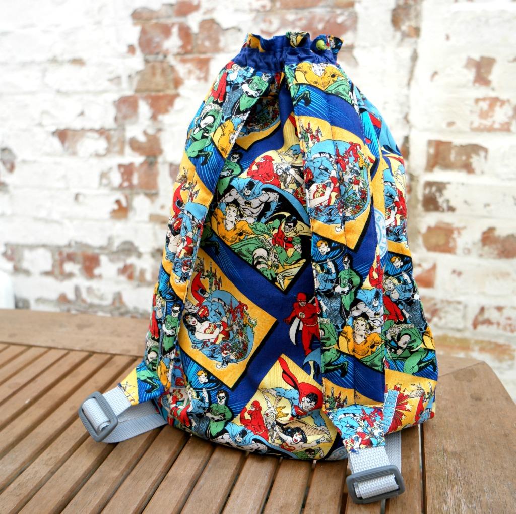 easy backpack tutorial