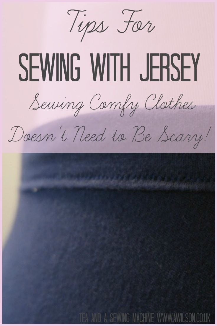 tips for sewing with jersey knits how to