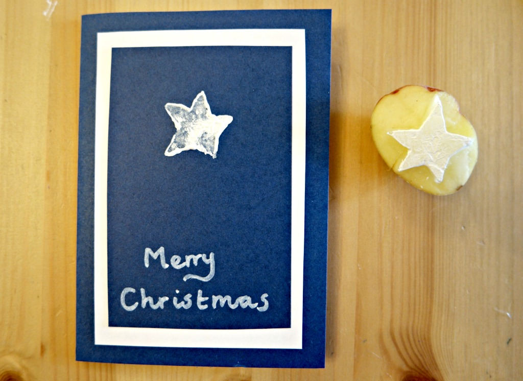 handmade christmas card tutorial