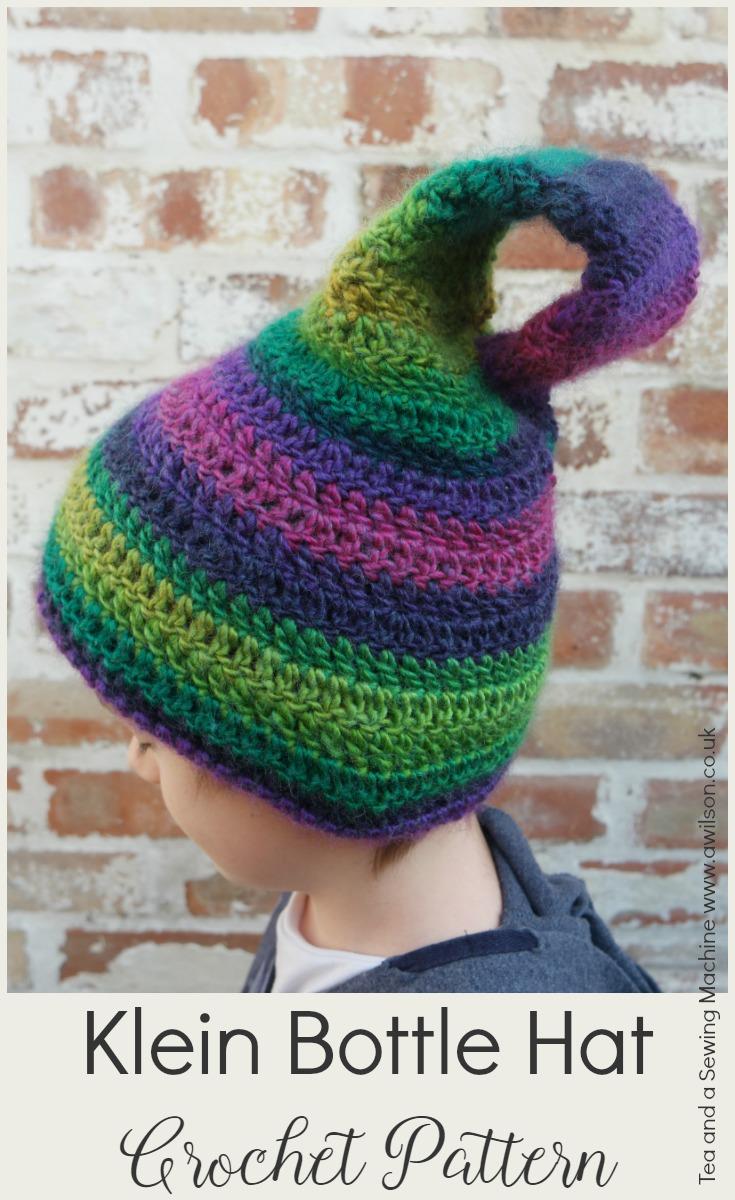 Klein Bottle Hat Crochet Pattern -
