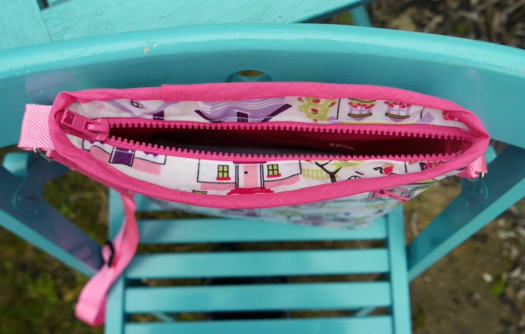 how to make a cross body bag tutorial