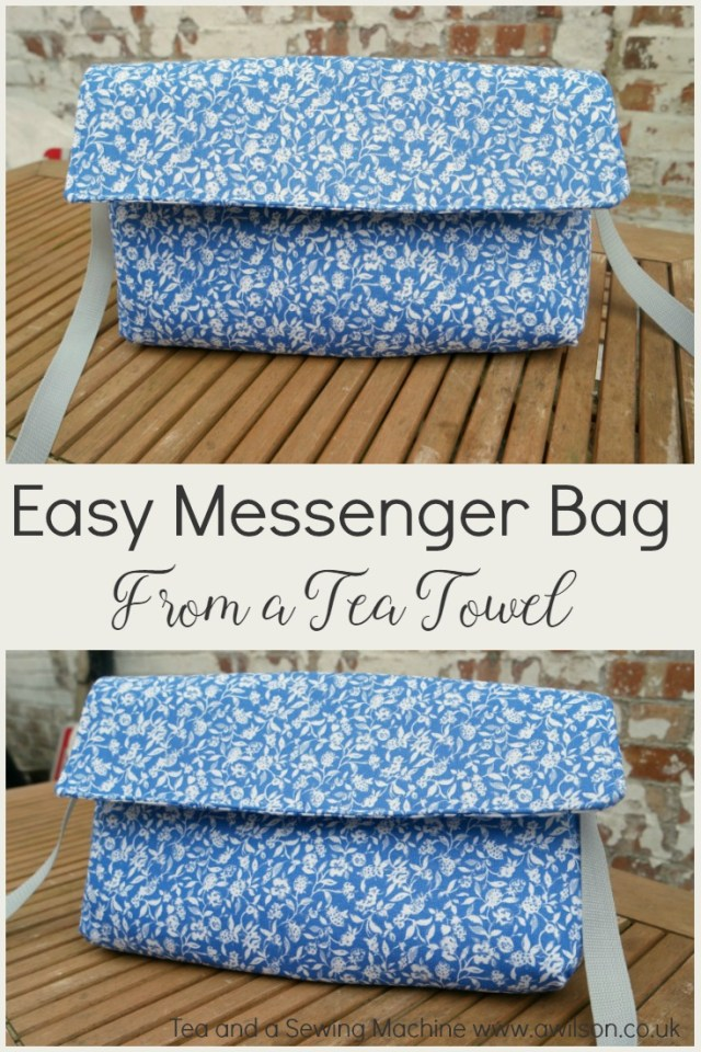 tea towel crafts quick and easy messenger bag
