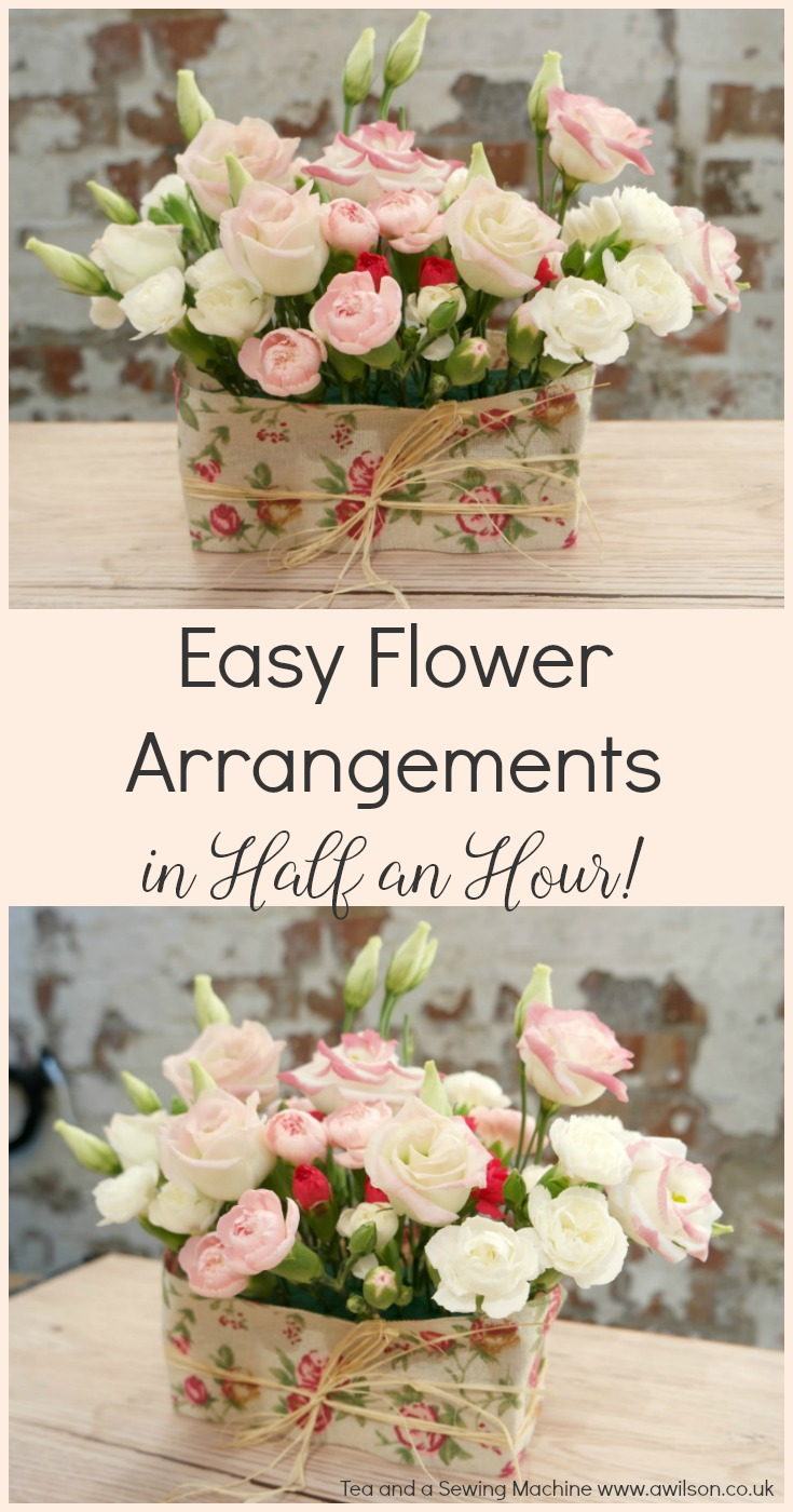 easy flower arrangement