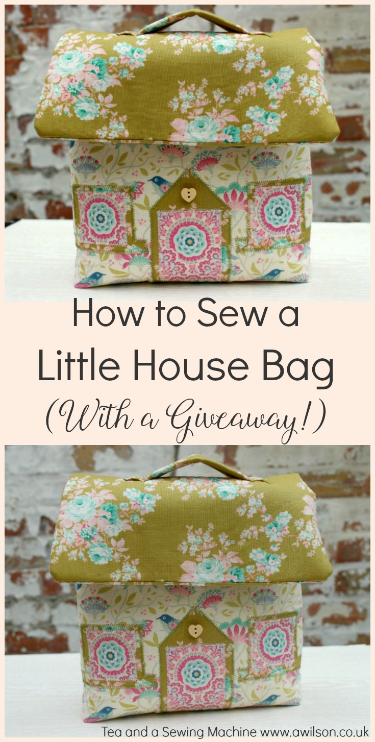 little house bag tutorial and giveaway. Black Bedroom Furniture Sets. Home Design Ideas