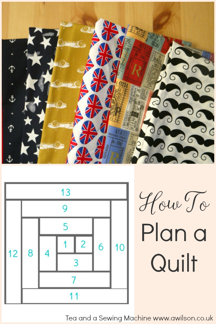 how to plan a patchwork quilt