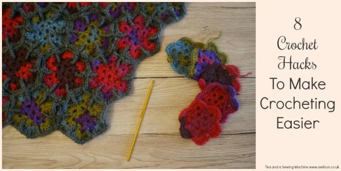 8 Crochet Hacks to Make Crocheting Easier