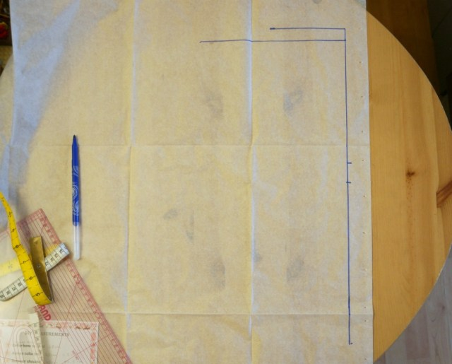 cherry blossom dress sewalong drafting bodice