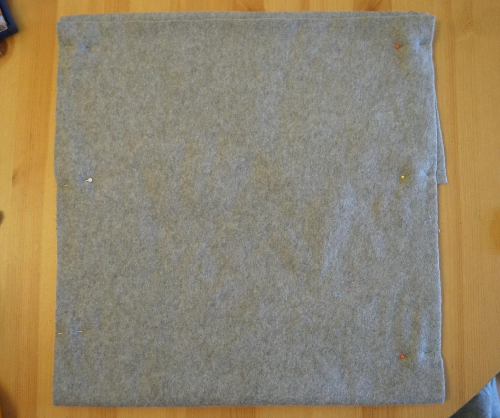 easy fleece bunting cushions