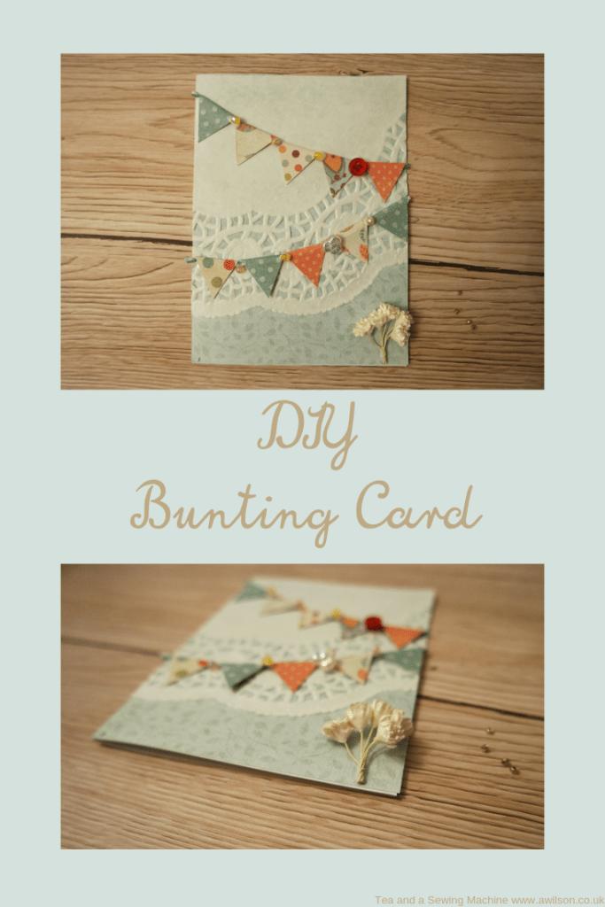 DIY Bunting Card