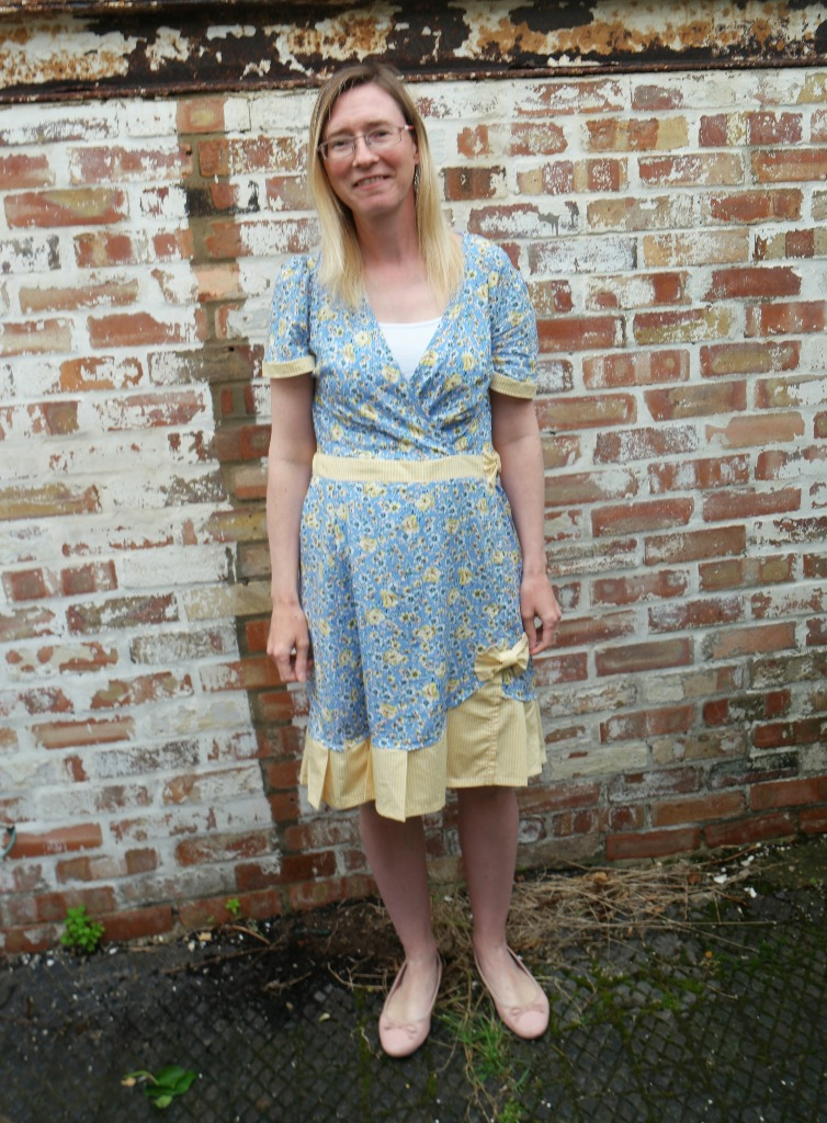 tea dress refashion