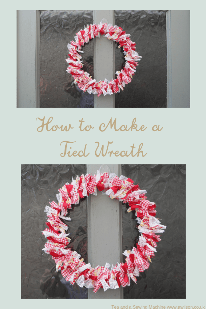 tied wreath