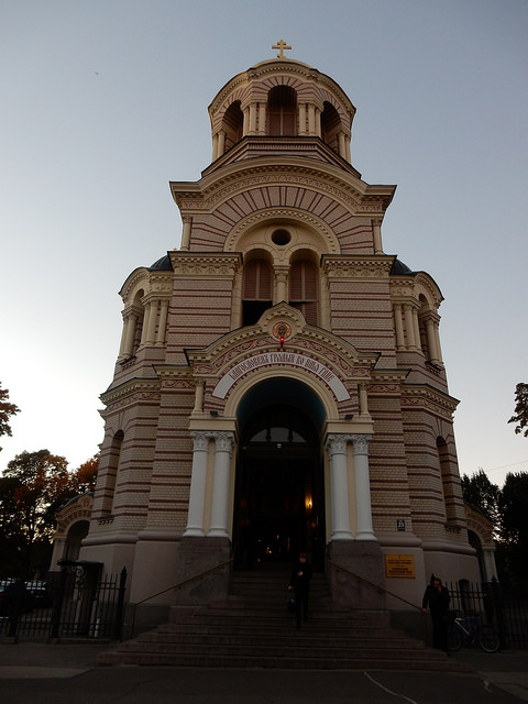 Nativity Church in Riga, Latvia