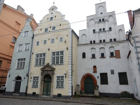 The Three Brothers in Riga, Latvia