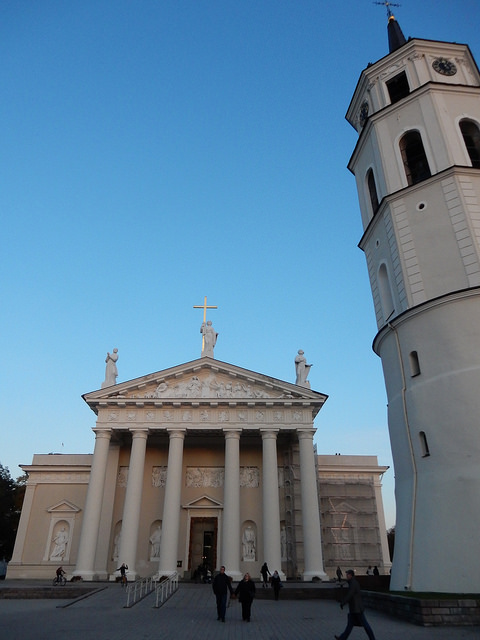 Vilnius Cathedral in Lithuania