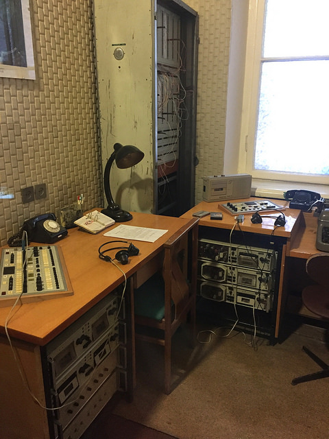 Museum of Genocide Victims in Vilnius, Lithuania. KGB Museum. Duty officer's room.
