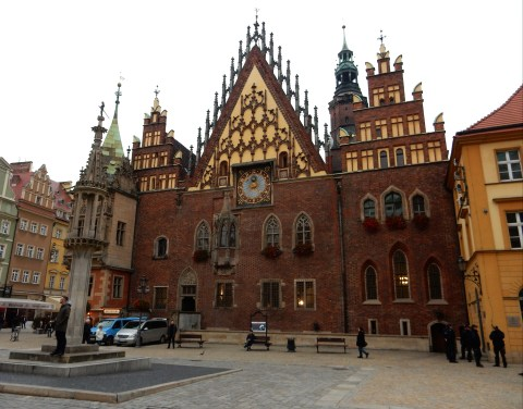 Market Square, Wroclaw, Poland. Old City Hall