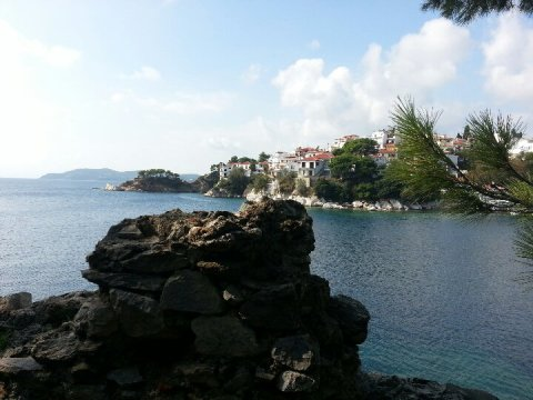 Skiathos, North of mainland Greece