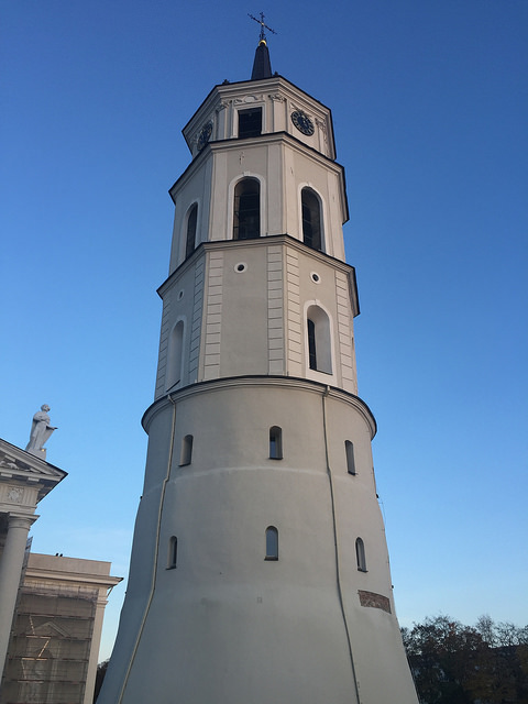 Vilnius Cathedral Belfry in Lithuania