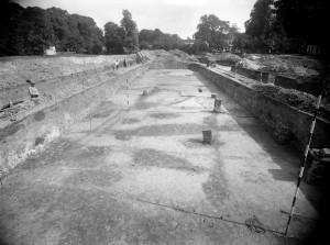 foto4 Forum Hadriani, de opgravingen  dr J.H. Holwerda