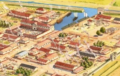 foto tekening Forum Hadriani