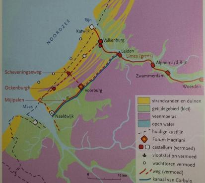 Afb. 1. Noordzee kustlijn