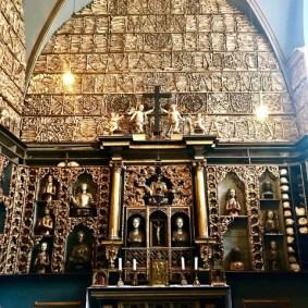 Afb. 8. gouden kamer in de St. Ursula kerk, Keulen