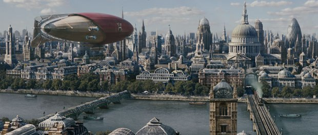 Golden Compass's take on London