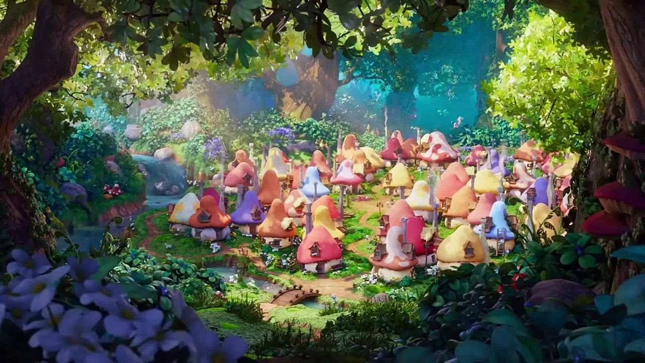 Video Bringing The 2d Aesthetic Of Peyo To The Cg World Of Smurfs The Lost Village Animation World Network