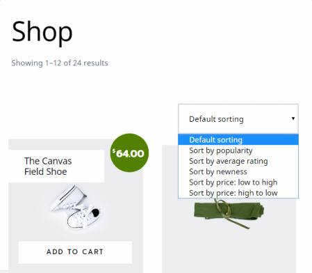 WooCommerce Shop Features - Outfitter Pro