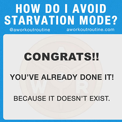 starvation mode myth - How Eating MORE Calories Can Make You Lose Weight (seriously)