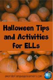 Halloween Tips and Activities for English Language Learners
