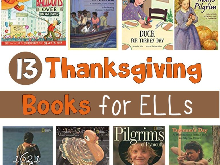 Thanksgiving books for ELLs