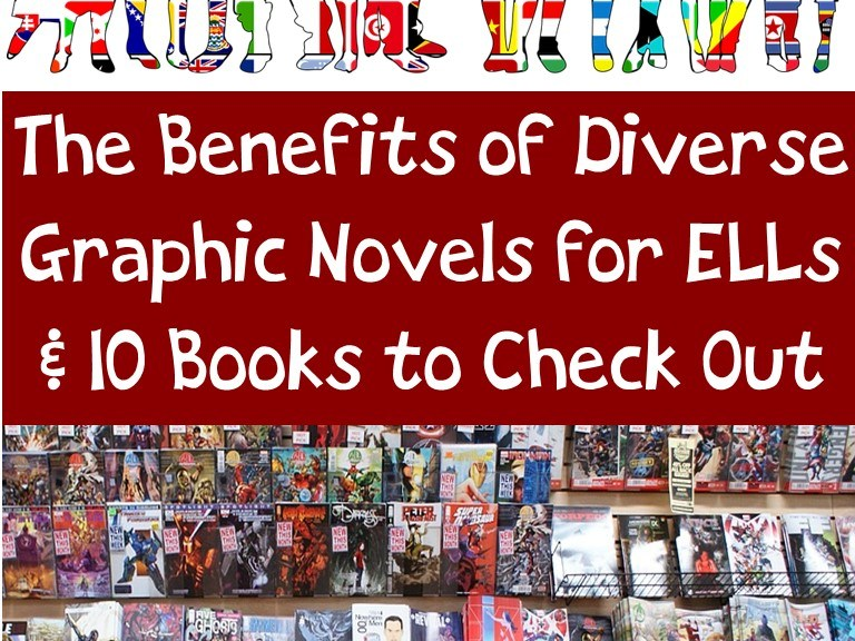 The benefits of Diverse Graphic Novels