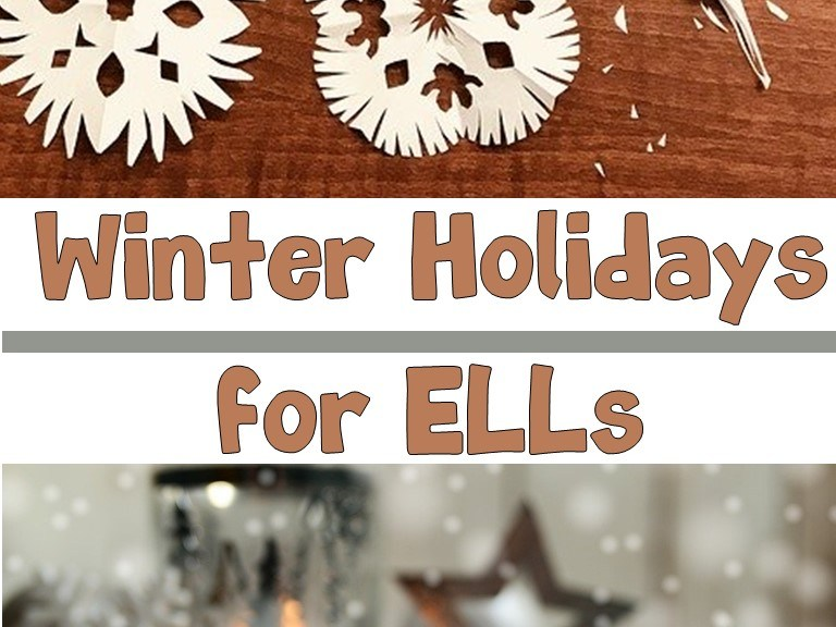 Winter Holidays for ELLs