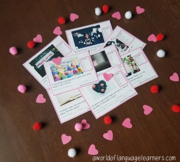 Valentine's Day Writing Prompt Task Cards