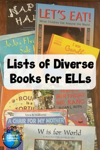 English Language Learners need to have access to diverse books. Here is a collections of Diverse Books for ELLs. Come find some great books to share with your students.
