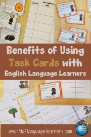5 Benefits of Using Task Cards with ELLs