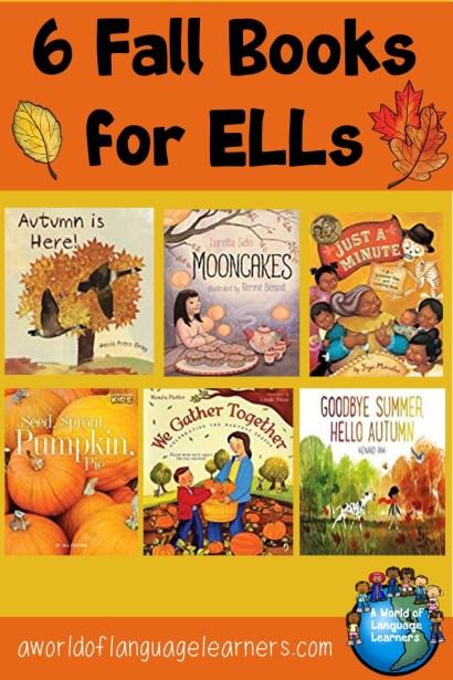 6 Fall Books for ELLs