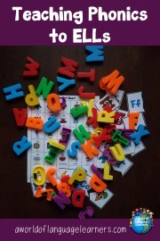 teaching phonics to ells