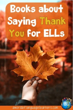 Thank you books for ELLs