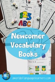 Newcomer Vocabulary Books