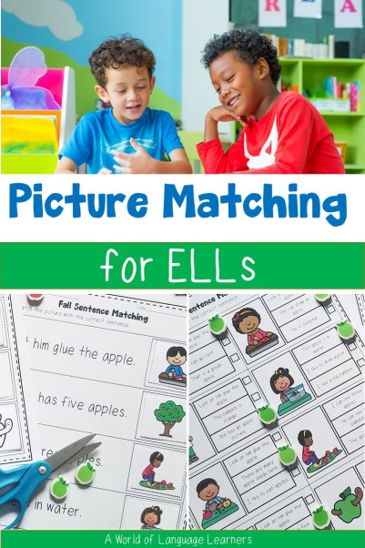 Picture matching for ELLs